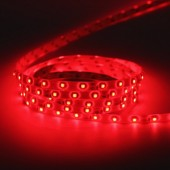 5M 16.4Ft 300LEDs Red 3528 LED Flex Strip Light 12V Waterproof