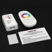 12-24V Mi.Light 2.4G FUT025 Wireless Touch Screen RGB LED Strip Controller 18A RF Remote Control