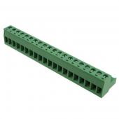 20 Pin Terminal Block Headers Plug Socket Term Blocks Connector 2pcs