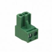 2 Pin Terminal Block Headers Plug Socket Term Blocks Connector 50pcs