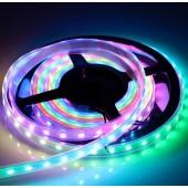 30LED/M WS2812B 5V RGB Addressable LED Strip 5M 150LEDs Light