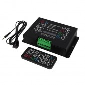 BC-380-8A Bincolor Controller With Wireless Remote 3CH RGB Controller