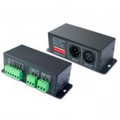 3CH CV DMX-PWM Decoder LT-8048 DC 12V 48V 12A Ltech LED Controller