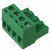 4 Pin Terminal Block Headers Plug Socket Term Blocks Connector 15pcs