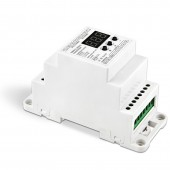 Bincolor BC-835-010V-DIN/BC-835-PWM-DIN Din Rail DMX512/1990 Converter LED Controller
