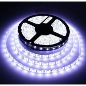 5050 Waterproof 5M 16.4Ft 300LEDs White Flexible Strip Light 12V