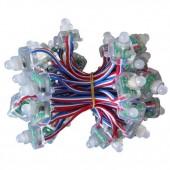 50 Nodes Waterproof 5V IP68 SM16703 LED Pixel Rectangle RGB Light