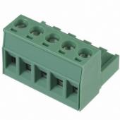 5 Pin Terminal Block Headers Plug Socket Term Blocks Connector 12pcs