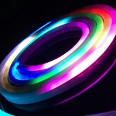 5M 12V LED SMD 5050 Pixel RGB Flexible WS2811 Neon Rope IP67