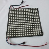 5V WS2812B Screen 16*16 256 Pixels Digital RGB Addressable Flexible Panel Light
