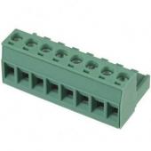 8 Pin Terminal Block Headers Plug Socket Term Blocks Connector 5pcs