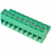 9 Pin Terminal Block Headers Plug Socket Term Blocks Connector 5pcs