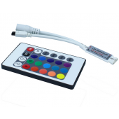 DC12V 24 Keys IR RGB Controller For 3528 5050 3014 LED Strip 3pcs