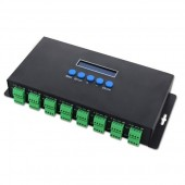 BC-216 Bincolor Artnet to SPI/DMX WS2811 WS2812B SK6812 Control 16CH Led Controller