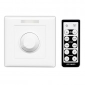 Bincolor BC-320-010V/PWM AC 85-265V Wall Knob with IR Remote Led Dimmer Controller
