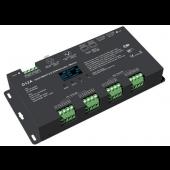 D12A Led Controller Skydance Lighting Control System OLED 12CH 12-24V CV DMX Decoder