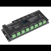 D24A Led Controller Skydance Lighting Control System OLED 24CH 12-24V CV DMX Decoder