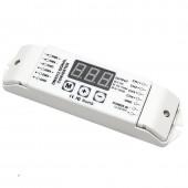Bincolor BC-834-PWM5V/BC-834-PWM10V 4CH 3-Digital-Display DMX512 Control Led Controller
