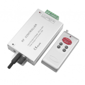 DC12V 24V Wireless Audio RF 6 Keys Remote LED Controller