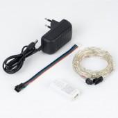 5V USB WS2812B LED String Party RGB Light Bluetooth Music Dancing Lighting