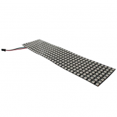 WS2812b Panel Screen 8*32 Pixel 256 Pixels Digital Flexible DC5V 2812 LED Light