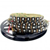 DC 5V APA102 300LEDs Addressable 5050 RGB LED Strip Light 5M