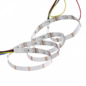 DC 5V SK6822 150LEDs RGB Breakpoint Continuous LED Strip Light