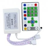 LED RGB Controller DC12V IR 25Keys Strip Running Light Remote 2pcs