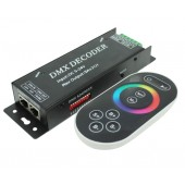 DMX101 Strip DMX Decoder DC 5-24V Leynew LED Controller