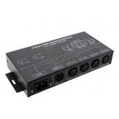 DMX124 DMX Signal Distributor AC 100-240V 4W Leynew LED Controller