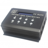 DMX400 ARTNET SD DC 12V 4 Channels Leynew DMX LED Controller