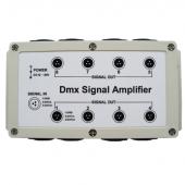 DMX Signal Amplifier Optional 8 Channel