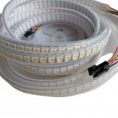 1M 144leds APA102 White Addressable LED Pixel Strip Light DC 5V
