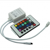 IR240 24 Key Infrared DC 12V 24V 3 Channels Leynew LED Controller 4pcs