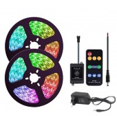 LED Light Strip Music Control 5050 RGB Flexible Multicolor Lighting For Room Bedroom Party Kitchen