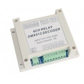 Relay 4CH DMX Relay Switch DMX512 Controller Decoder Relays