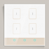 LTECH TK-RF04-A Smart Home Intelligent Control Panel Wall Switch Led Controller