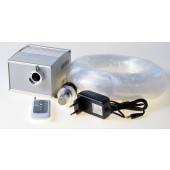 5w Cree Led Flicker Light Engine Starry Sky 3m Flexible Polymer End Emit Lighting Kit