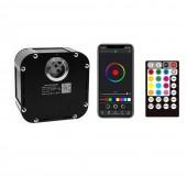 APP Bluetooth 50W RGBW LED Fiber Optic Illuminator for Star Ceiling Pool Floor