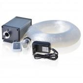 Twinkle 6 Color Wheel Optic Fiber Twinkle CREE LED Star Ceiling Light Kit