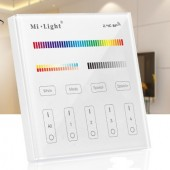 MiLight T4 Wireless LED Controller 4-Zone RGB+CCT Smart Panel Control