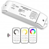 Bincolor Dimming Led Controller Multi Zone Control Wireless Remote With Receiver