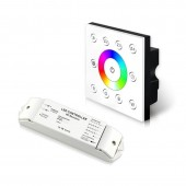 Bincolor Led Wireless CC P8X+R4-CC-2.4G RGBW Panel DMX512 4CH 12v-48v Controller