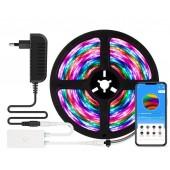 WS2812B RGB Led Strip Light RF Wifi Alexa Bluetooth Control Room TV Home Party Lighting