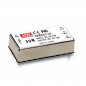 SKM50 Series 50W Mean Well Regulated Converter Power Supply