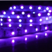 SMD5050 Ultraviolet 400-405nm LED Light Strip 5M 300LEDs DC12V