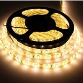 SMD 5630 12V LED Strip Light 5M 300LEDs Warm White Waterproof