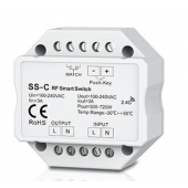 SS-C Led Controller Skydance Lighting Control System Non-Dimmable 100-240VAC 3A RF 2.4GHz & Push switch