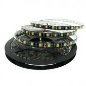 12V 5050 LED Strip Light 5M 300 LEDs Black PCB Background 16.4ft