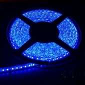 Waterproof 3528 Blue Flexible Strip Light 5M 600LEDs 12V LED Tape